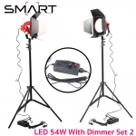 SMART 54W LED Red Head with Dimmer (แสงขาว 5500K) Set 2