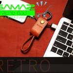 ราคาพิเศษ สายชาร์จพวงกุญแจ REmax Cable รุ่น RC-034i หัว I5 I5s I6 I6s I6plus iPad mini iPad Air สินค้าใหม่ พกง่าย ดีไซน์หรู ทน
