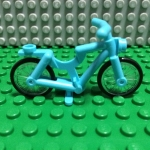 Medium Azure Bicycle