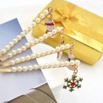 ราคายกโหล กิ๊บ คริสต์มาส pearl HR2412-DZ