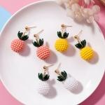 เลือกสีด้านในค่ะ ต่างหู Cute Pineapple Korea ER63254