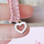 หัวใจ-ผ้ายืดรัดผม Girly HR0314-H
