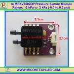 1x MPXV7002DP Pressure IC Sensor MPX7002 Module