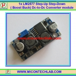 1x LM2577 Step-Up Step-Down ( Boost Buck) Dc-to-Dc Converter module