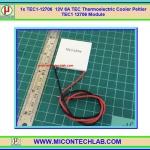 1x TEC1-12706 12V 6A TEC Thermoelectric Cooler Peltier TEC1 12706 Module