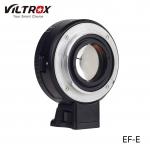 Viltrox NF-E Manual-focus F Mount Lens Adapter Telecompressor Focal Reducer Speed Booster for Sony NEX E-mount Camera
