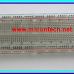 1x Transparent Breadboard 830 tie-points