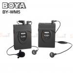 Microphone BOYA BY-WM5 UHF Pro wireless Microphone