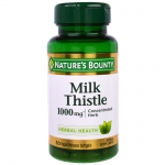 Nature's Bounty, Milk Thistle, 1000 mg*, 50 Rapid Release Softgels