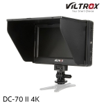 "Viltrox DC-70 II 4K HDMI Field Monitor 7"" TFT LCD HD video Monitor HDMI AV Input"