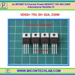 4x IRF2807 N-Channel 75V 82A 230W Power MOSFET IR IC
