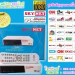 ชุดรับสัญญาณเคเบิ้ลพม่า SKYNET HD ( ดูฟรี 1 ปี)