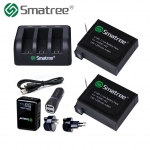 Smatree Replacement battery Full Set for Hero4