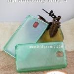 Case Samsung Note3 soft caseสีเขียวมุก
