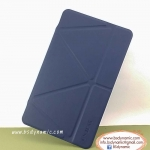 Clearance sales เคสหนัง Samsung TabS 8.4 ยี่ห้อ Onjess (Smart cover) สีน้ำเงินเข้ม ปกหลังใส
