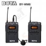 Microphone BOYA BY-WM6 UHF 48 Channels Pro wireless Microphone
