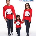 เสื้อครอบครัว เสื้อครอบครัวพร้อมส่ง ชุดครอบครัว ผลิตจากผ้าฝ้ายคุณภาพสูง สวมใส่สบาย