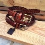 เข็มขัดหนังถัก Homme's รุ่น Knit leather
