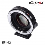 Viltrox NEW EF-M2 Auto Focus Lens Mount Adapter 0.71x for Canon EF mount series lens to M43 camera Electronic Adapter with USB update port