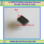 1x SN75176 Differential Bus Receiver RS485 / RS422 SN75176BP IC Chip