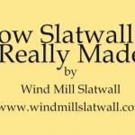 มาชมวิธีผลิต Slatwall กันจ้า