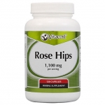 Vitacost, Rose Hips 1,100 mg per serving, 120 Capsules