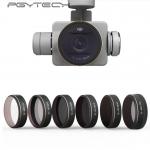 PGYTECH 6pcs/set UV/CPL/ND4/8/16/32 Graduated HD Lens Filters for Phantom 4 PRO
