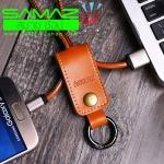 ราคาพิเศษ สายชาร์จพวงกุญแจ Remax RC-034m หัว Micro USB Samsung LG Imobile Nokia สินค้าใหม่ พกง่าย ดีไซน์หรู ทน สินค้าใหม่