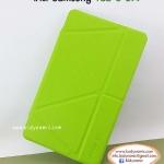 Clearance sales เคสหนัง Samsung TabS 8.4 ยี่ห้อ Onjess (Smart cover) สีเขียว ปกหลังใส