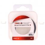 JYC Pro 1 D Super Slim UV fiter 49mm