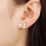 ต่างหู White Flower Pearl ER1233