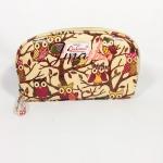 กระเป๋าสตางค์ Chalita wu สีเหลือง ลายนกฮูก