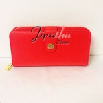 กระเป๋าสตางค์ Chalita wu สีแดง