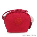 กระเป๋าคล้องมือผ้าลิง สีแดง