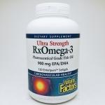 Natural Factors, Ultra Strength RxOmega-3, 150 Enteripure Softgels