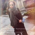 PRE-ORDER ผ้าพันคอผู้หญิงแฟชั่นเกาหลีใหม่ ผ้าพันคอ/ผ้าคลุมไหล่ ผ้าหนาผืนใหญ่
