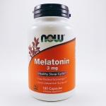 Now Foods, Melatonin, 3 mg, 180 Capsules