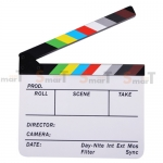 (Q005) whiteboard Movie Film Slate color ( white )
