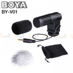 Microphone BOYA BY-V01 Stereo X/Y Mini Condenser Microphone