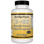 Healthy Origins, E-400, 180 Softgel Capsules