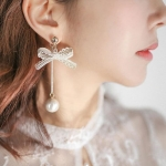 ต่างหู Lace Ribbon Korea ER11441