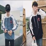 PRE-ORDER เสื้อกันหนาวแฟชั่นแบบใหม่ เสื้อกันหนาวแขนยาวคลุมมีฮู้ ดออกแบบเรียบง่ายแนวอินดี้