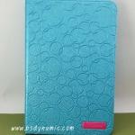 เคส samsung galaxy Note 8 สีฟ้าประกายมุก Book diary