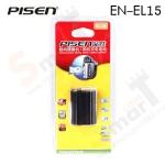 Battery PISEN EN-EL15 for D7000/D7100/D800/D800E