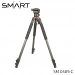 SMART Tripod SM0509C Carbon Fiber Professional For Video & Camera
