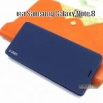 เคส Samsung Galaxy Note 8 สีน้ำเงิน Flip cover