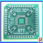 1x PCB TQFP44 Pitch 0.8mm