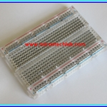 1x Transparent Breadboard 400 Tie-points (เบรดบอร์ดแบบใส)