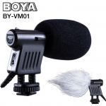 Microphone BOYA BY-VM01 Stereo Microphone For DSLR Camera DV Camcorder