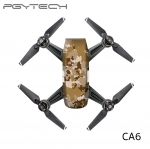 PGYTECH CA6 Sticker skin for DJI Spark series colorful and bright 3M scotchcal film waterproof